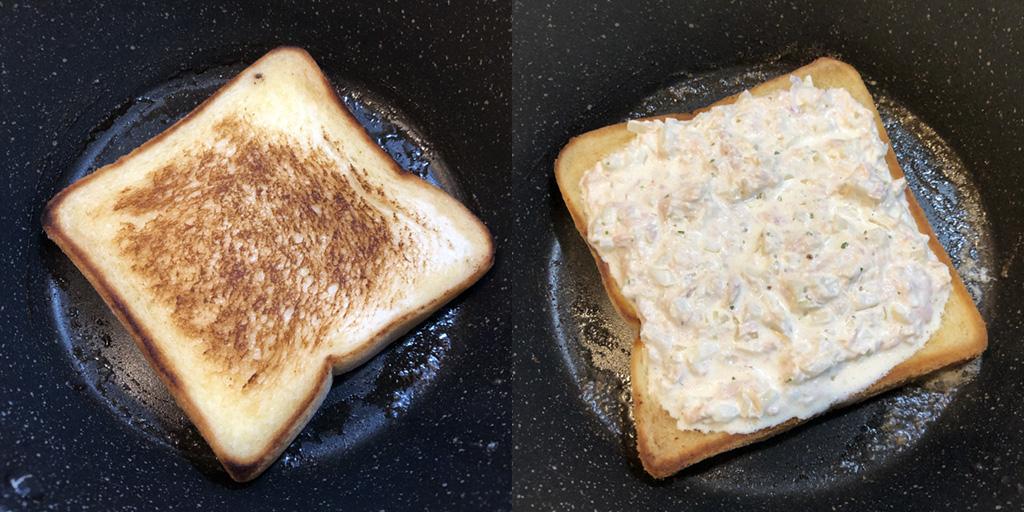 フライパンで「焼いた」食パン。もはや別次元の甘みと香ばしさ。